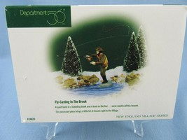Department 56 New England Village Fly-Casting In The Brook Accessory 56633 - $12.50