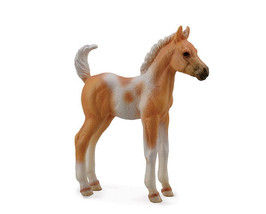 <><  Breyer CollectA 88669 Pinto Horse foal paint palamino exceptional beautiful - $5.85