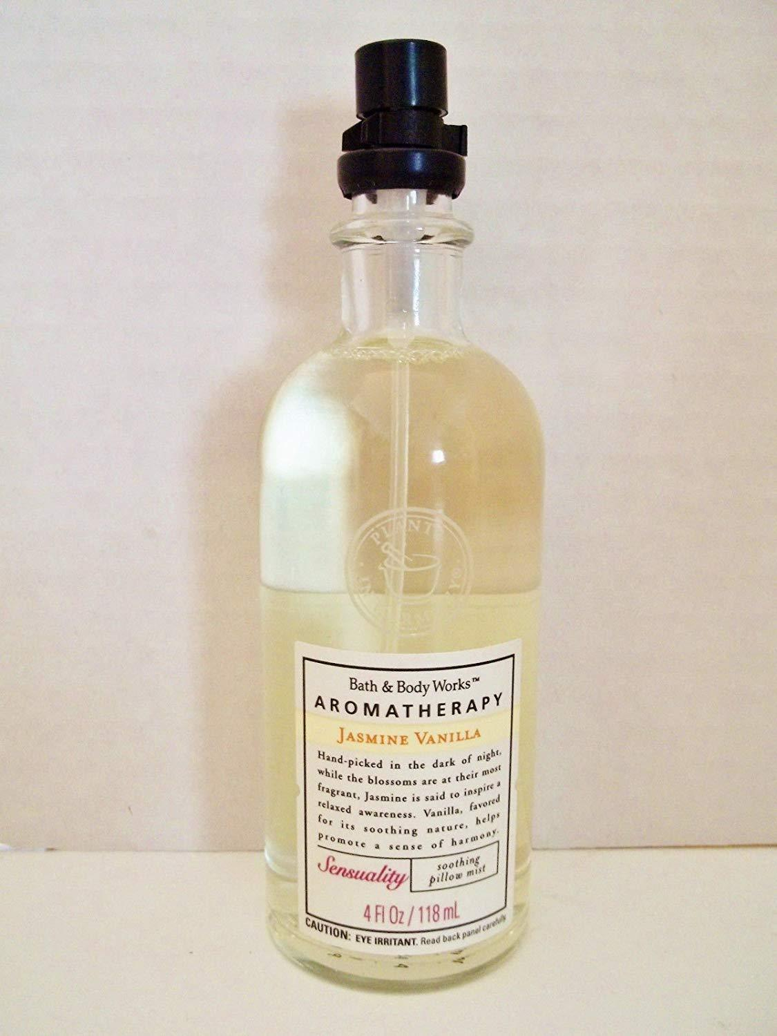 Primary image for Bath & Body Works Aromatherapy Jasmine Vanilla Soothing Pillow Mist