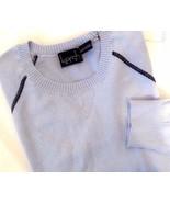 Kersh Women's Crew Neck Pullover Lightweight Sweater  Periwinkle various... - $13.79