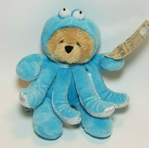 Ganz Wee Bear Village Teddy In Octopus Costume Plush Stuffed Animal H140... - $15.79