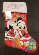 Disney 90 Years Mickey - Mickey & Minnie Mouse Christmas Stocking - $17.77