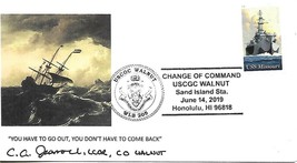 Change Of Command USCGC WALNUT (WLB-205) June 14 2019 Cacheted Cover - $3.47