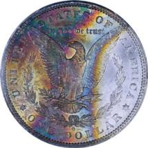 1884 O  MS64 MORGAN SILVER DOLLAR  * RAINBOW TONING  * KEY DATE. 4940 - $171.50