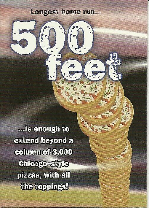 1999 Fleer Tradition Going Yard Complete set 1-15