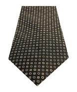 NEW MICHAEL KORS RING NEAT BLACK 100% SILK NECK TIE $65 - $22.76