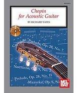 Mel Bay Chopin for Acoustic Guitar (Book/CD) - $47.78