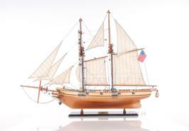 "1847 Baltimore Clipper Harvey 35"" Wooden Tall Ship Model Sailboat Hand B... - $334.69"
