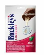6PACK Buckley's Cough Syrup Drop Lozenges 18 Menthol Outburst 108 LOZENG... - $32.83