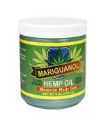 Mariguanol Hemp Oil Muscle Rub Gel - 9 Oz - $20.48