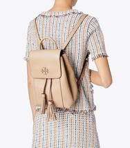 NWT Tory Burch McGraw Leather Backpack in Devon Sand - $399.00