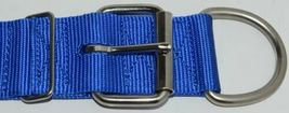 Valhoma 760 S24 BL Spike Dog Collar Blue Double Layer Nylon 24 inches Package 1 image 3