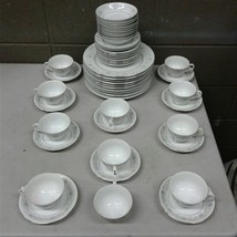English Garden Fine China 1221 Japan 51pc Lot Plate Cups Bowls 10 Person... - $148.50