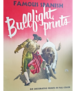 4 Vintage Famous Spanish Bullfight Print Penn Prints New York Original C... - $27.50