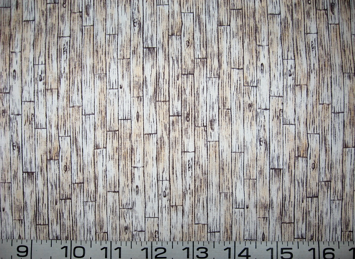 Primary image for Light hardwood floor architectural quilt fabric -By the half yard