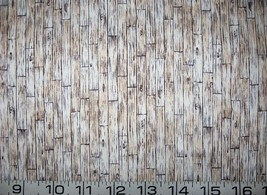Light hardwood floor architectural quilt fabric -By the half yard