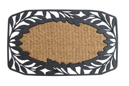 Outside Doormat, Vine Leaves Coir Outdoor Decorative 18x30 Welcome Mats - $26.09