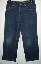 ROCA WEAR Denim Jeans Sz 10 Boy's 28 x 23 1/2 - $12.99