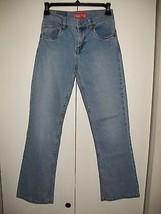 Girl's LEVIS 517 Stretch Flare Jeans-Sz 12 x 27 Light Wash - $11.24