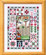 Enchanted Gardens cross stitch chart Bobbie G Designs - $7.20