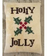 Holly Jolly christmas cross stitch chart Death by Thread  - $8.00