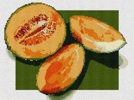 Melon Needlepoint Kit - $101.75