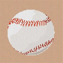 Baseball (Large) Needlepoint Kit - $96.50