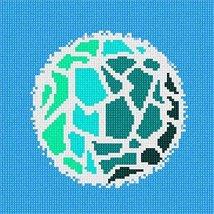pepita Planetoid (Large) Needlepoint Canvas - $82.00