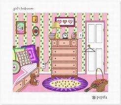 Girl's Bedroom Needlepoint Kit - $119.00