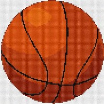 Basketball Needlepoint Kit - $66.25