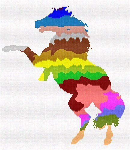 Primary image for pepita Horse Palette Silhouette Needlepoint Kit