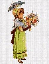 pepita Gabrielle and Parasol Needlepoint Canvas - $40.00