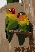 Two Parrots Needlepoint Kit - $73.25
