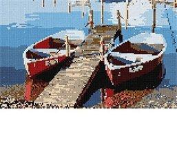 Rowboats Needlepoint Kit - $105.50