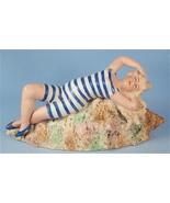 German Big Blonde Bisque Bathing Beauty on Seas... - $300.00