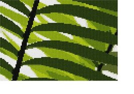 Green Leaf Needlepoint Kit - $62.75
