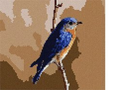 Bluebird Needlepoint Kit - $76.75