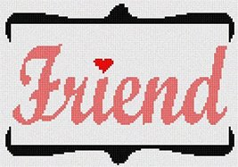 Friend Needlepoint Kit - $57.00