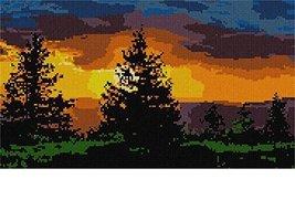 pepita Evergreen Sunset Needlepoint Kit - $158.00