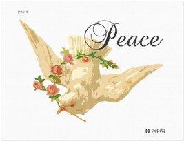 pepita Peace Needlepoint Canvas - $50.00