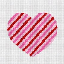 Heart Striped Needlepoint Kit - $53.50