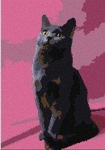 pepita Chartreux (Large) Needlepoint Canvas - $108.00