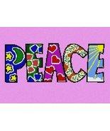 pepita Peace Patterns (Large) Needlepoint Canvas - $107.00