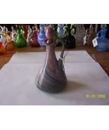 Mauve Colored Art Glass Cruet - $49.50