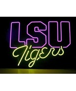 New LSU tigers neon sign 20''X16'' H620 shipped from USA