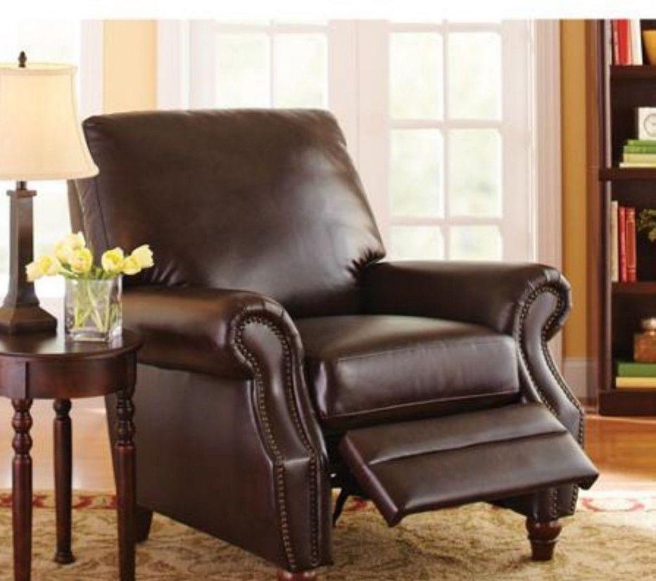 recliner nailhead comfy home living room furniture den dorm chairs