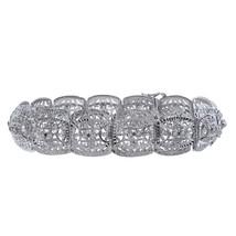 0.28 Carat Round Cut Diamond Vintage Fancy Bracelet 18K White Gold - $1,741.41