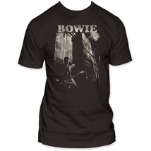 David Bowie Guitar Fitted Jersey T-Shirt - $24.00
