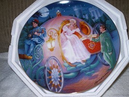 "Franklin Mint  ""Cinderella's Magical Journey"" Plate Collection - $26.00"