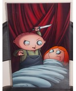 Family Guy Stewie Glossy Print 11 x 17 In Hard Plastic Sleeve - $24.99